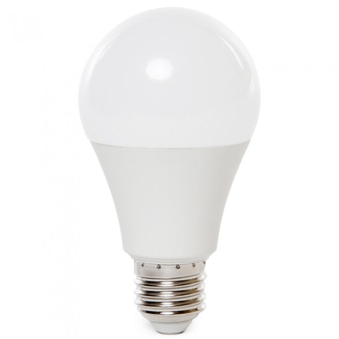 led лампа, 9w, e27, бяла светлина, 4000к, 806lm, 7261