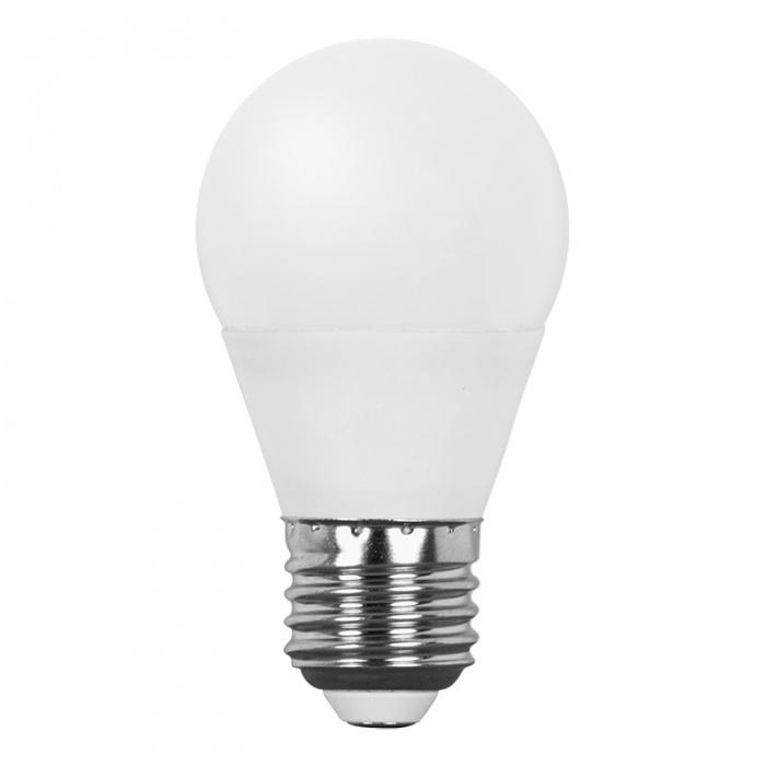 led лампа, 7w, e27,  топла светлина, 2700к, 600lm, lbg72727