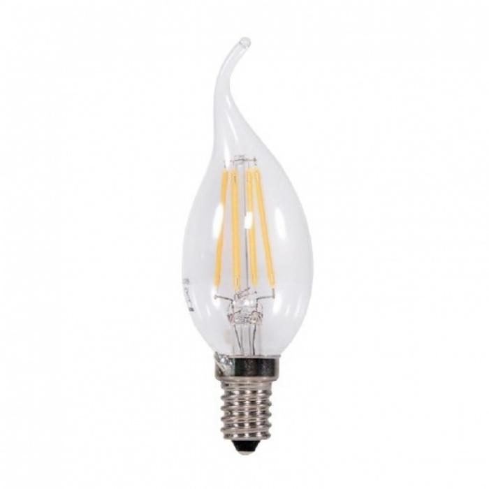 led лампа, 4w, e14, топла светлина, 2700к, 360lm, L020107252