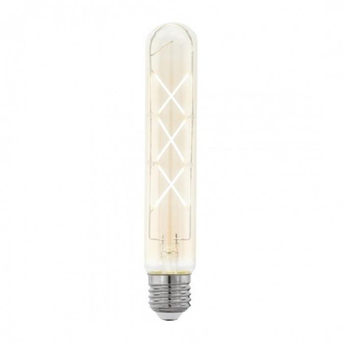 led лампа, 6w, e27, топла светлина, 2200к, 590lm, 4181