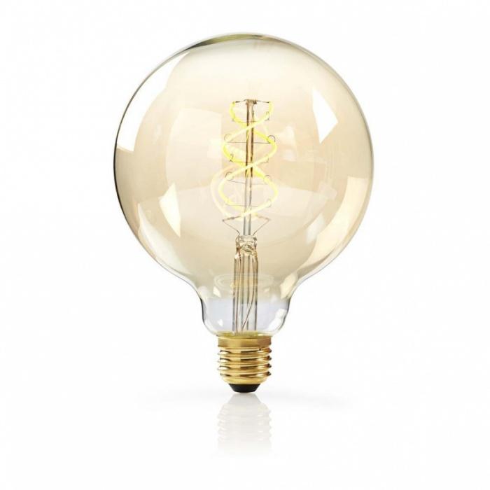 led лампа, 5w, e27, топла светлина, 2200к, 350lm, 4180