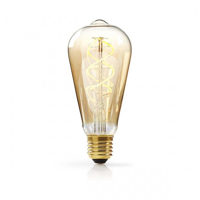 led лампа, 5w, e27, топла светлина, 2200к, 350lm, 4178