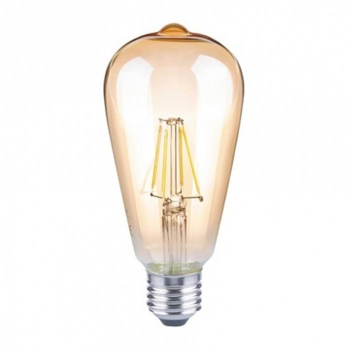 led лампа, 4w, e27, топла светлина, 2700к, 330lm, L020207342