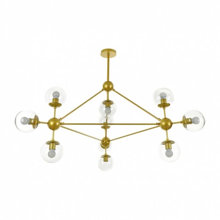 Полилей Molecule, злато, 10xe27, el 2322/10 gd