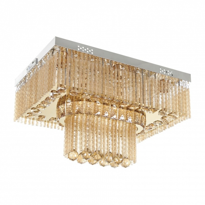 Плафон Nairobi, злато, led rgb+8xe27, 2317/60 gd
